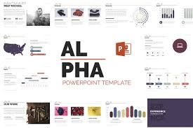 Business Case Powerpoint Template Alpha Powerpoint Template Presentation Templates On Creative