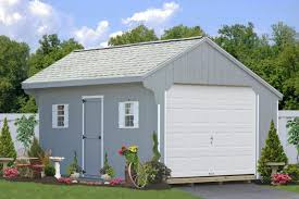 affordable one car garages in wood and vinyl see prices