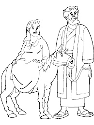jesus in the manger coloring page mary and joseph coloring pages getcoloringpages com