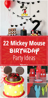 mickey mouse birthday party 22 mickey mouse birthday party ideas tip junkie