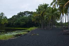 black sand beach hawaii hawaii s punalu u black sand beach exotic estates