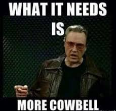 Stanford Memes - stanford cowbell player plays the hell out of his cowbell gif