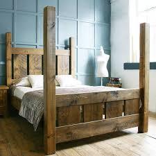 Rustic Room Ideas Best 25 Rustic Bed Frames Ideas On Pinterest Diy Bed Frame