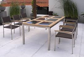 Glass Patio Table And Chairs Modern Glass Top Patio Table And Chairs House Photos