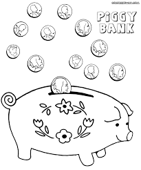 bank coloring pages coloring pages to download and print