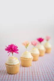 cupcake toppers carnation cupcake toppers diy