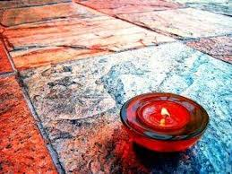 how to get candle wax tile floors hunker