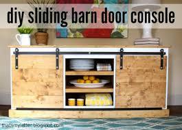 cabinet barn door hardware diy sliding barn door console hardware tutorial jaime costiglio