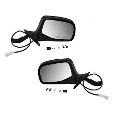 Ford F150 Truck Mirrors - amazon com driver and passenger power side view mirrors black