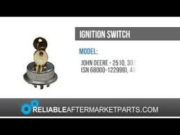 ar39505 john deere tractor ignition switch 2510 3020 4020 5010