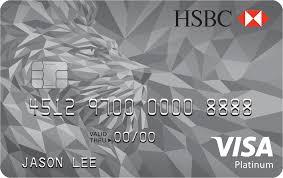 persyaratan buat kartu kredit hsbc kartu kredit hsbc visa platinum card jaringan visa pilihkartu com