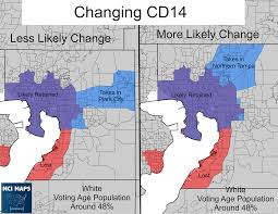 Tampa Florida Map by Maps Detail Possible Changes To Comply With Court U0027s Redistricting