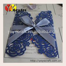 fancy indian wedding invitations sea blue wedding invitation laser cut ideal products wedding