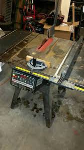 10 Craftsman Table Saw Anyone Else Have A Craftsman