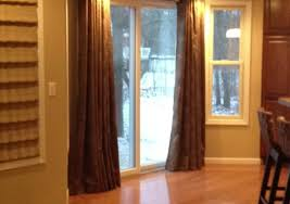 curtains kitchen patio door curtains educate insulated sliding