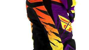 fly motocross jersey fly racing f 16 pants review youtube