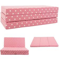 kids sofabed pink spots kids folding sofa bed futon guest z bed