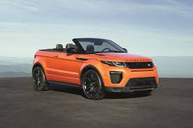 range rover modified 2017 range rover evoque convertible is a go anywhere droptop