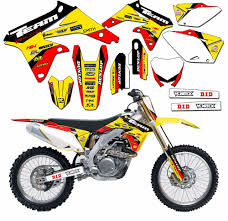 1999 2000 suzuki rm 125 graphics kit decals dirtbike mx rm125 deco