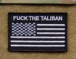 American Flag Morale Patch The Taliban Us Flag Morale Patch U2013 Britkitusa