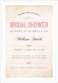 bridal shower luncheon invitation wording sle bridal shower invitations marialonghi