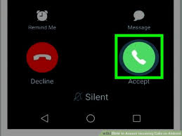 call android how to answer incoming calls on android 5 steps with pictures