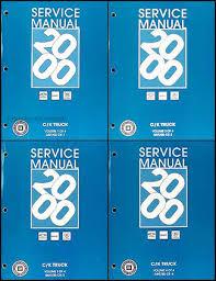 2003 cadillac escalade repair manual 2000 style 2500 3500 escalade repair shop manual set