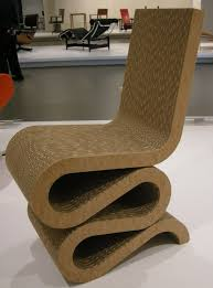 frank gehry cardboard furniture wiggle chair diy pdf download