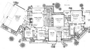 luxury ranch floor plans inspiring one level luxury house plans photo house plans 30042