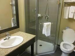 Clean Bathroom Showers Clean Bathroom Shower But No Tub Picture Of La Quinta Inn