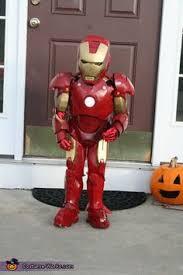 boy u0027s avengers muscular iron man mark 42 halloween costume sizes s