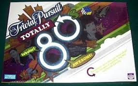 trivial pursuit 80s trivial pursuit totally 80s board mint in sealed box ebay