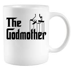 godmother mugs the godmother logo coffee mug teeshirtpalace