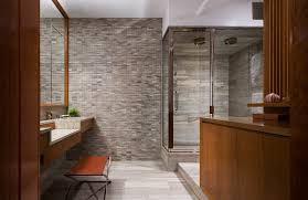 studio bathroom ideas brick wall studio apartment by stephan jaklitsch gardner