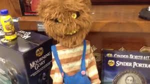 thrashing clown spirit halloween spirit halloween creepy roaming bear prop youtube