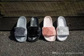 Bedroom Shoes For Womens 2017 Cheaper Rihanna Fenty Slippers Women Slipper Shoes