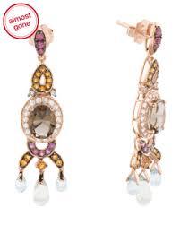 Rose Gold Chandelier Earrings Rose Gold T J Maxx