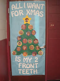 Christmas Door Decorations Ideas For The Office Backyards Images About Door Contest