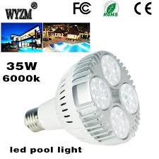 pentair vs hayward pool lights 35w swimming pool led light bulb 6000k daylight white e26 base