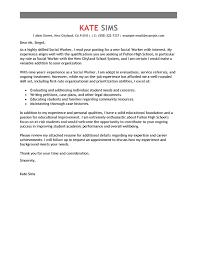 social work cover letter best social worker cover letter exles livecareer