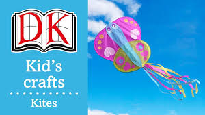 fun kids u0027 craft how to make a simple paper kite youtube