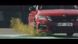 video skoda octavia rs245 promoted through abstract art 1 images