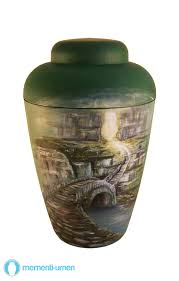 urn for human ashes mementi funeral urn bridge to afterworld