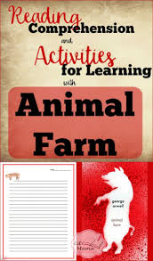 animal farm activities for learning with printables lit mama