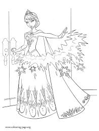 frozen coloring pages elsa coronation look elsa can freeze things with her hands what about have fun