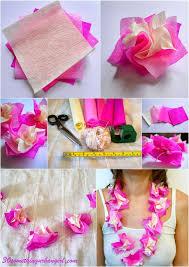 30 something urban how to make paper hawaii lei diy