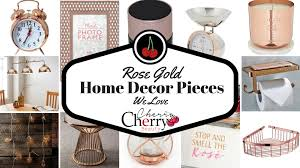 Rose Home Decor by Rose Gold Home Decor Pieces We Love Cherrycherrybeauty