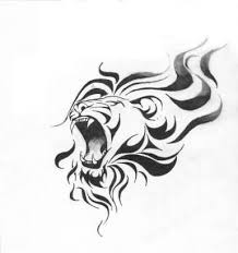 roaring lion tattoo on both arms tattooshunter com