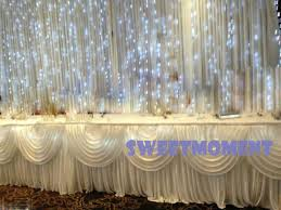 wedding backdrop fairy lights aliexpress buy 3x3m led light curtain for wedding backdrop