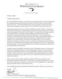 recommendation letter from employer after internship